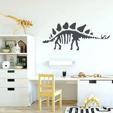 wall decoration decals dinosaur wall decals stegosaurus bones personalized  vinyl wall dinosaur wall decals stegosaurus bones