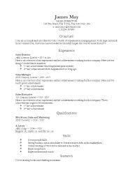 Classic Resume Template Fascinating Classic Cv Template Word Resume Templates For Executive Letsdeliverco
