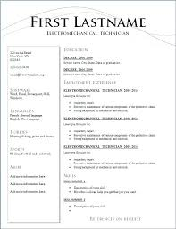 Resume Layouts Magnificent Resume Layouts Samples Creer Pro Resume Format Printable Resume