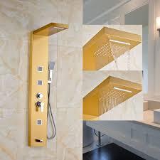 Wand Befestigter Badezimmer Dusche Wasserhahn Set Dusche Panel