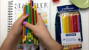 Staedtler Colored Pencils 48 Color Chart Staedtler Colored Pencils Review