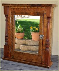 Wood Medicine Cabinet With Mirror Wooden Medicine Cabinets Without Mirrors Home Design Ideas