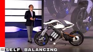self balancing autonomous yamaha motobot motorcycle