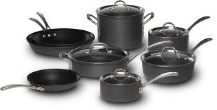 calphalon commercial hard anodized. Simple Commercial Calphalon Commercial Nonstick 13pc Cookware Set Intended Hard Anodized C