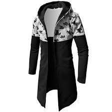 Us 14 17 Feitong Camo Male Sweatshirts Men Autumn Winter Casual Camouflage Zipper Long Sleeve Top Blouse Jacket Coat Brand Hoodies In Hoodies