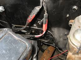 mustang gauge feed wiring harness 1967 1968 installation mustang firewall to engine gauge feed wiring harness install image