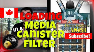 how to setup canister filter canister filter media tray order