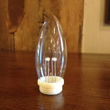 light bulb torpedo bulb replacement for dual intensity window candles pack of