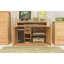 office sideboard. Oak Hidden Home Office Sideboard Desk Cor Order Furniture