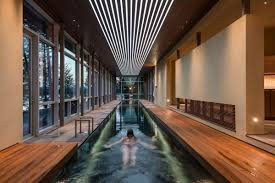 Delightful designs ideas indoor pool Creates Bohemian Indoor Lap Pools Homedit The Benefits Of Lap Pools And Their Distinctive Designs