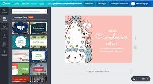 Aplicaciones Para Hacer Invitaciones Gratis Crea Tarjetas De Cumpleaños Para Niños Online Gratis Canva