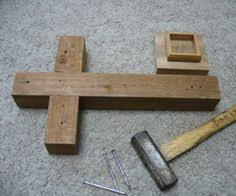 How to make a wooden cross   crosses   Pinterest   Wooden crosses, Craft  and Woods