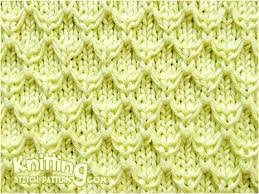 Knit Stitch Patterns Delectable Mock Honeycomb Knitting Stitch Patterns