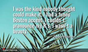 Boston Quotes Impressive Explore Barbara Walters Quotes QuoteCites