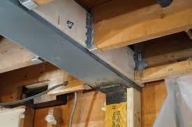 Replacing A Load Bearing Beam With A Flush Beam A Concord