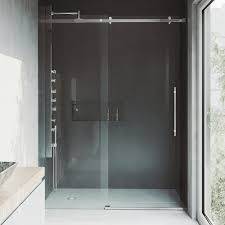 vigo luca 56 to 60 in x 78 75 in frameless sliding shower door in