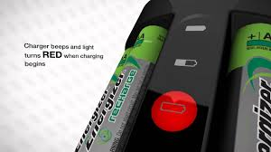 Charging Battery Light Energizer Recharge Pro Charger