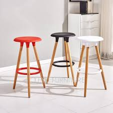 modern wood counter stools. Perfect Stools Minimalist Modern Design Plastic And Solid Wood Bar Stool Wooden Counter  Simple Chair Inside Stools
