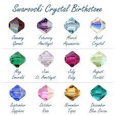 Swarovski Crystal Swarovski Crystals Birthstones Birth