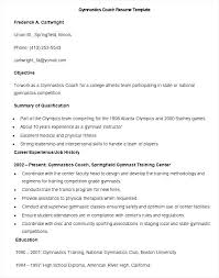Coaching Resume Template Beauteous Sports Coach Resume Soccer Coach Resume Template Coaching Cover