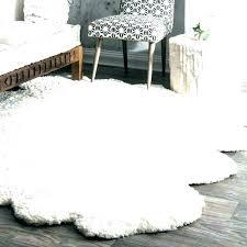 bear area rug fur rugs white faux fake skin with head uk