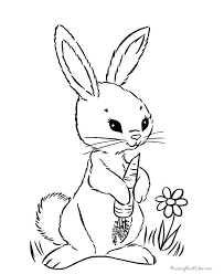 Easter Bunny Printable Coloring Pages Colouring Pages Bunny Best