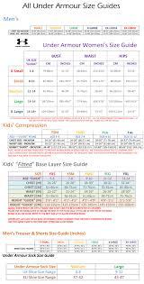 Under Armour Sweatpants Size Chart 78 Comprehensive Under Armour Socks Size Chart