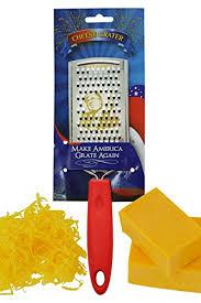 fairly odd novelties make america grate again donald novelty cheese grater political gift
