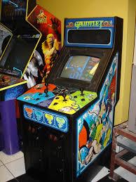 Ninja Turtles Arcade Cabinet Gauntlet Arcade Cabinet The Arcade Is On Fire Pinterest