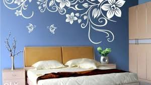 wall painting designs for bedrooms beautiful ideas for painting bedside wall painting designs