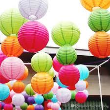 How To Make Hanging Paper Ball Decorations Adorable 32 Hot Sale Chinese Paper Lanterns For Party Wedding Decoration