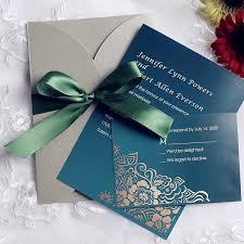 emerald green vintage gray pocket wedding invitations ewpi104 as Wedding Invitation Blue And Green vintage emerald and gray pocket wedding invitation ewpi104 wedding invitation blue green motif