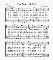 sheet music silent night night peaceful night