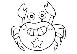 Small Picture Crab Coloring Pages For Kids PdfColoringPrintable Coloring Pages