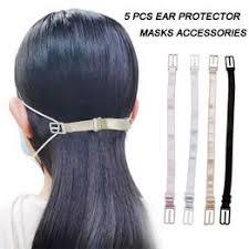 5 PCS Face Mask Ear Hook Adjustable Masks Extension ... - Vova