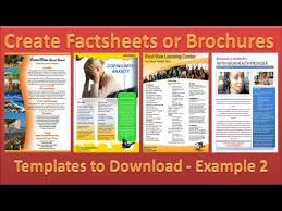making pamphlets online for free make brochure how to make brochures in microsoft word 2010