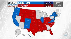 Presidental Election Results Trump Wins Florida Clinton Wins Washington 2016 Election Results