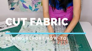 How To Cut Fabric for Sewing & Quilting | SEWING REPORT - YouTube & How To Cut Fabric for Sewing & Quilting | SEWING REPORT Adamdwight.com