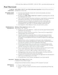 Sample Resume Objective Statements Best Law Enforcement Objective Police Law Enforcement Resume Objective
