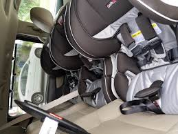 this seat has made it so much easier and quicker to move the around they are also slim enough so easily fit 3 across in our odyssey love love love