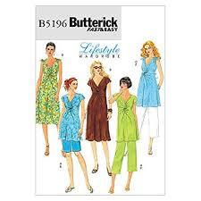 Maternity Patterns Interesting Amazon Butterick Patterns 48 Misses Maternity Top Dress