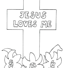 Printable Easter Coloring Pages For Sunday School Coloring Pages