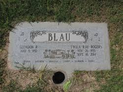 Twila Ray Rogers Blau (1935-2014) - Find A Grave Memorial