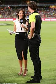 network s mel mclaughlin switch to channel seven for  expanding her knowledge the sports reporter is reportedly is considering an offer to