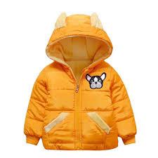 jocestyle children s winter jackets kids boys dog embroidery fleece windproof hooded coat outerwear children clothing