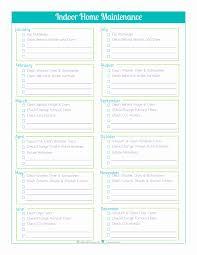 Freeme Maintenance Checklist Template Spreadsheet Excel Schedule ...