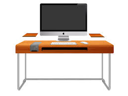 cretive small contemporary desk for office and home furniture