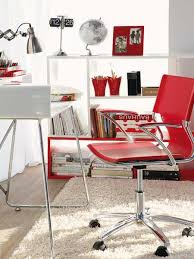 red home office. Decorating Red White Home Office C