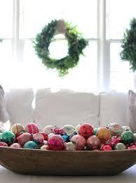 Dough Bowl Decorating Ideas Home Decor Inspiring Charming Vintage Christmas Décor Ideas Brown 84