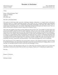 Cover Letter Marketing Starengineering